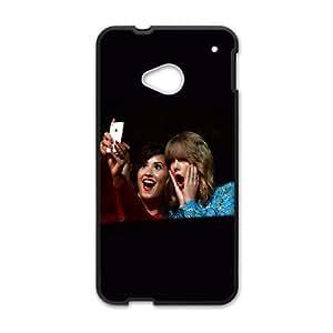 HTC One M7 Cell Phone Case Black Demi Lavato Taylor Swift Cam Girls M7S8TG