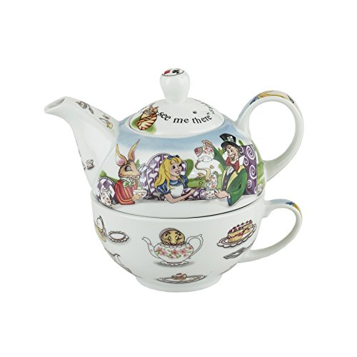 Cardew Design Alice in Wonderland Tea for One 16-Ounce Teapot and 10-Ounce Cup
