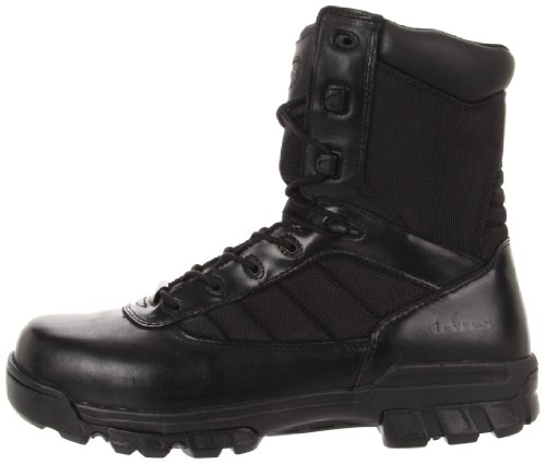 Bates Men's Ultra-Lites 8 Inches Tactical Sport Side Zip Work Boot,Black,10.5 M US