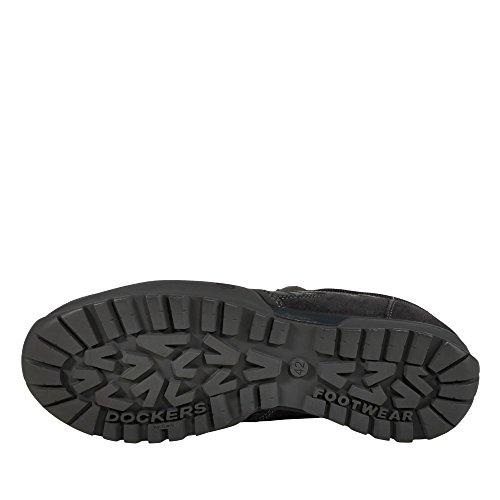 Dockers 36ht004-236 - Zapatos de cordones para hombre asphalt blau