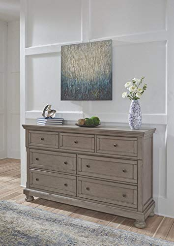 Bedroom Signature Design by Ashley Lettner dressers, Light Gray farmhouse dressers