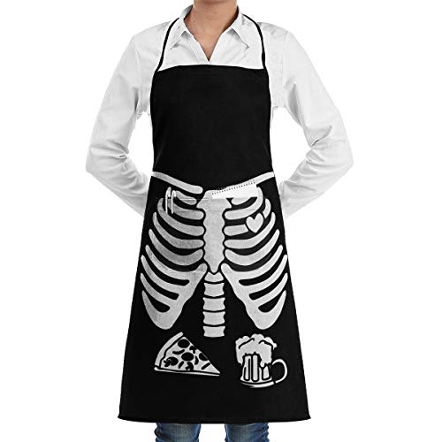 AQRG3578 Items Similar to Funny Halloween Apron with Pockets,for Grill BBQ Kitchen Cooking Artist Painting for Men Women