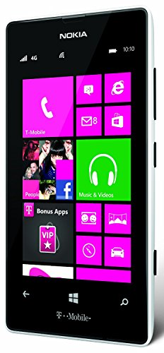 Nokia Lumia 521 GSM Unlocked Windows Smartphone - White (Certified Refurbished)