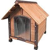 【ドイツKARLIE】新発売の犬小屋 ドイツKARLIE 木製ドッグハウス プライマル