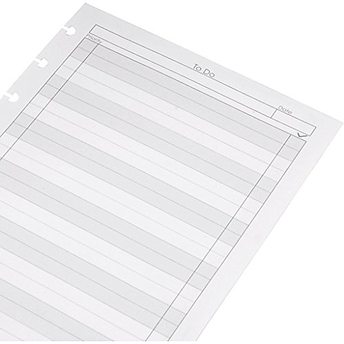 Staples  Arc  To Do  Notebook Filler Paper  Junior Sized  White  50 Sheets