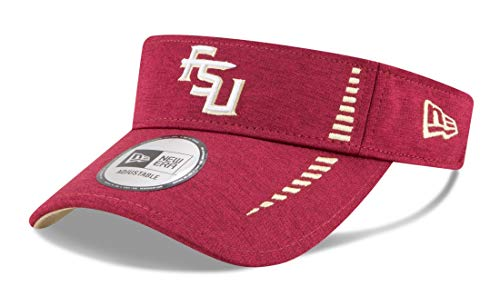 New Era Florida State Seminoles NCAA Shadow Speed Performance Adjustable Visor ()
