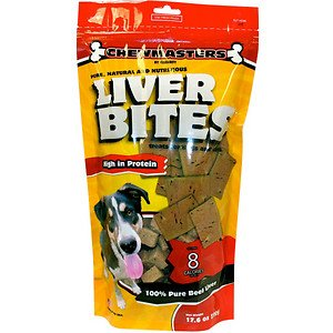 Amazon.com: Chewmasters Beef Liver Bites Freeze-Dried Dog
