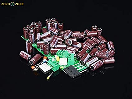 Plug Type: Universal Pukido 62X-PSU High Current 62pcs 100V 220uF Capacitor array Rectifier power supply Kit