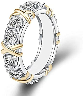 17bfa33d7645 Kycut Design - Anillo de compromiso para mujer