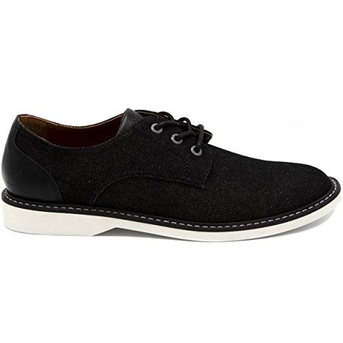 Nautica Men's Admore Oxford Shoe, Business Casual Fashion Sneaker -Admore-Black-10 by Nautica (Image #1)