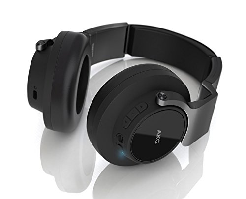Price comparison product image AKG K 845BT Bluetooth Wireless On-Ear Headphones,  Black