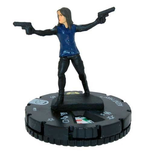 (Heroclix Nick Fury Agents of S.H.I.E.L.D #011 Agent May with Character Card)
