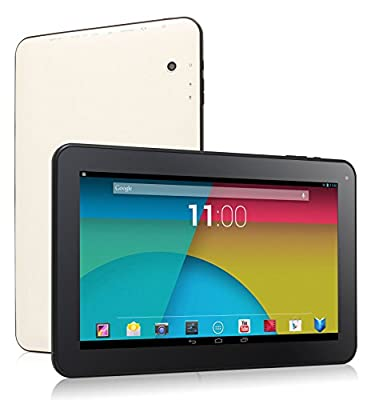 """Dragon Touch A1X 10.1"""" Quad Core Google Android 4.4 KitKat Tablet PC, 1GB RAM, 16GB Nand Flash, Bluetooth, Dual Camera, HDMI, Google Play Pre-installed, 3D Game Supported, 2014 Newest Model [ by TabletExpress ]"""