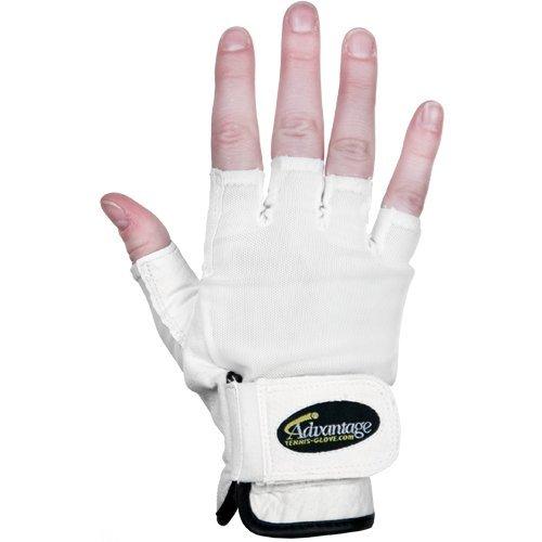 Advantage Tennis Glove Half Finger Right Mens - L