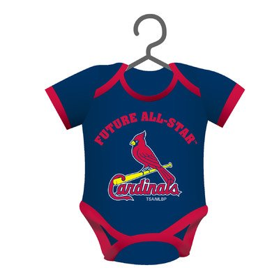 MLB Baby Shirt Ornament MLB Team: St Louis Cardinals