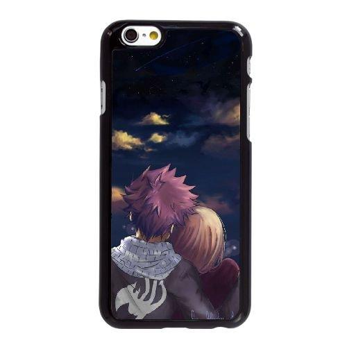 X3K53 Fairy Tail J5T1WA coque iPhone 6 4.7 pouces cas de couverture de téléphone portable coque noire FP2YCN8DT