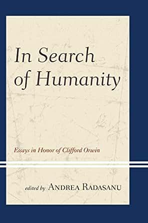 Essay on humanity in politics