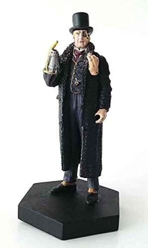 Doctor Who - Half-Faced Man Figurine Made of metallic resin Individually hand painted Comes with a 20-page magazine (1:21); EM-DW041 (Figurine Magazine)
