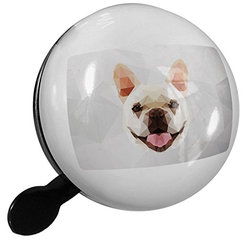 NEONBLOND Small Bike Bell Low Poly Zoo Animals French Bulldog
