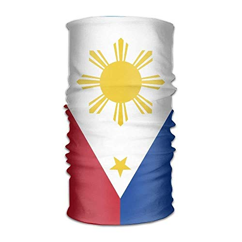 sretinez Kerchief Flag of The Philippines Multifunctional