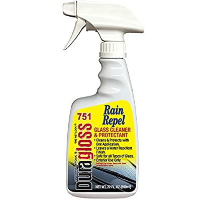 Duragloss 751 Rain Repel 22 Ounce Glass Cleaner: Automotive
