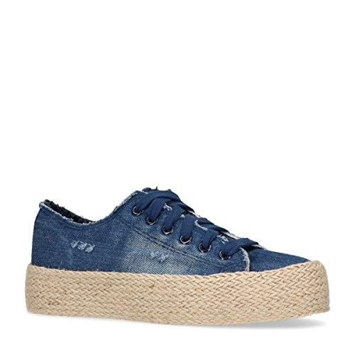 Sacha Damen Plateau-Sneaker Blau