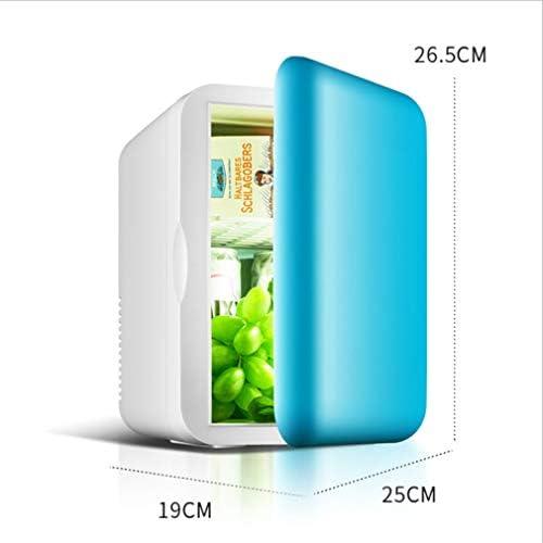 クーラー冷凍庫アイスボックス、 ポータブル冷凍庫カー冷蔵庫12V 220-240Vカーホーム6Lキャンプホットとコールドデュアルユースミニ冷蔵庫 B