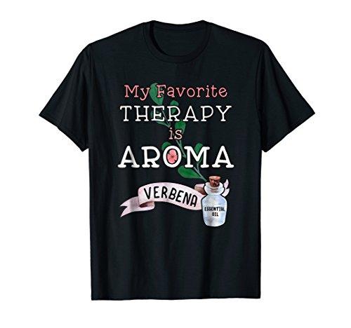 Aromatherapy Lemon Verbena Essential Oil T-Shirt (Aromatherapy Verbena)