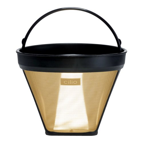 Frieling Cilio 4 Cone Coffee Filter 24 Karat Gold Plated