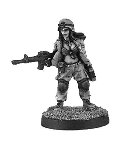 Black Scorpion Miniatures: Medic Girl - Black Miniatures Scorpion