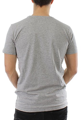 Shine T-Shirt Men 40407 Grey Melange