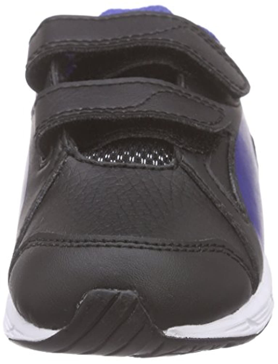 Puma Unisex Kids' Axis v4 SL V Inf Low-Top Sneakers Black Size: 1 UK