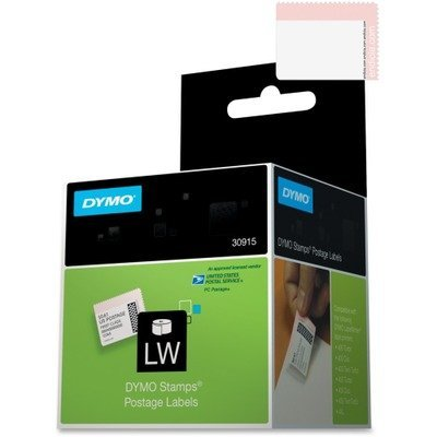 DYMO 30915 - LabelWriter Postage Stamp Labels, 1-5/8 x 1-1/4, White, 200/RL-DYM30915 by DYMO