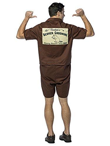 Rasta Imposta Mr.Cooter Beaver Groomer Costume Brown ()