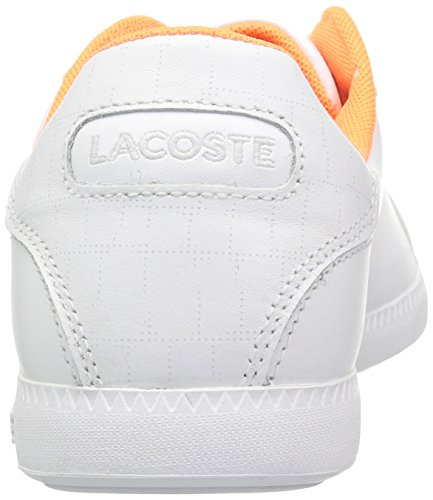 Lacoste Frauen Absolvent 118 1 Spw Sneaker Weiss weiss