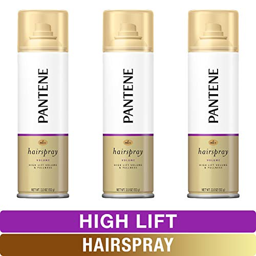 Pantene Hairspray, Pro-V High Lift, For Volume Body And Fullness, 11 Oz, Triple Pack