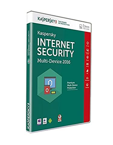 Kaspersky Lab Kaspersky Internet Security 2016 Multi-Device, 3 Devices - Disc (Pc) (Kaspersky Antivirus 2015 1 User)