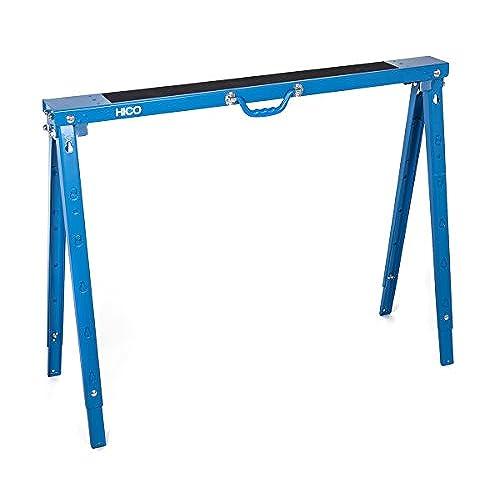 HICO USH1700 Folding Metal Sawhorse Single   Height Adjustable