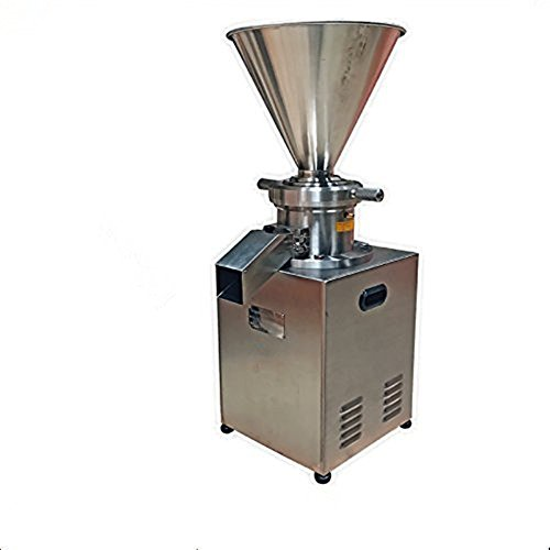 Price comparison product image 220V / 380V 4000W Vertical Sesame Soybean Peanut Butter Colloid Mill Grinder for Crushing Emulsifying and Homogenizing