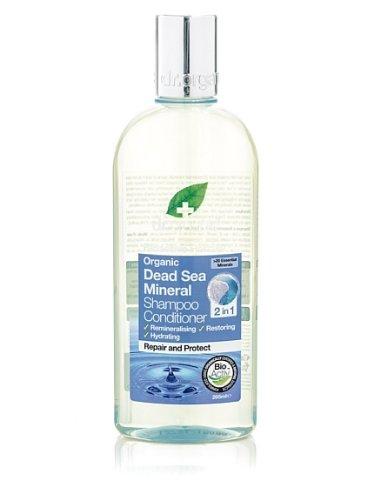 Dr. Organic Dead Sea Minerals Shampoo & Conditioner - Shampoo e Balsamo 2In1 265 ml Optima Naturals S.R.L. DRC12059 DRC12059_-265