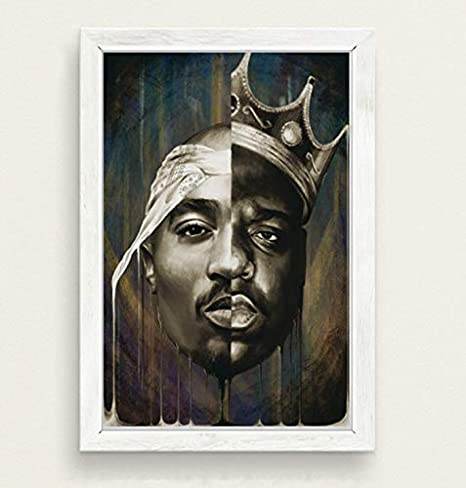 The Notorious B.I.G Biggie Smalls Rapper Music Star Oil Painting Canvas HD Print