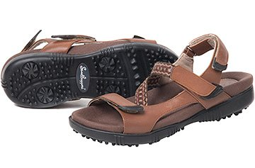 Sandbaggers Tango Women's Golf Sandals (8, (Sandbaggers Womens Shoes)