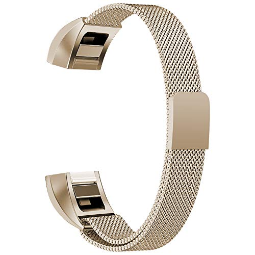 Oitom for Fitbit Alta HR Accessory Bands and for Fitbit Alta Band (Champagne, Small 5.1