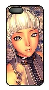 Blade & Soul Iphone 5 5s Hard Plastic Black Case, Designer iPhone 5 5s case Blade & Soul
