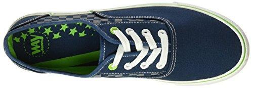 BEPPI Canvas 2148525, Zapatillas para Hombre Azul (Navy Blue)
