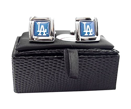 MLB Los Angeles Dodgers Square Cuff Links