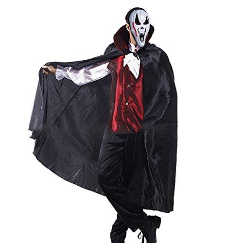 Men's Complete Vampire Costume Set Adult Halloween Party Costume Accessory - Costume Vampire Modern
