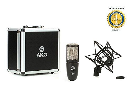 akg p220 condenser microphone - 4