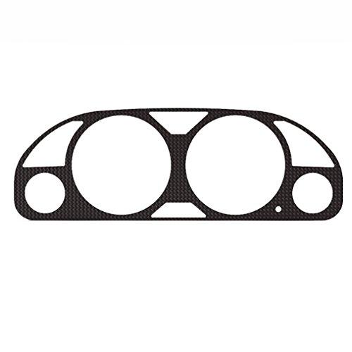 Ferreus Industries Carbon Fiber Vinyl Gauge Cluster Dash Bezel Trim fits: 1997-2001 Honda Prelude BZL-396-Carbon - Honda Prelude Dash Cover Dashboard