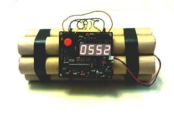 c837bb4b97c8 Novelty defusable Reloj despertador